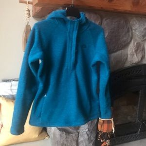 North face thick athletic and/or casual pull-over.